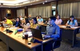 รูปภาพ : ประชุมการจัดทำรายงานการประเมินตนเอง (SAR) ระดับสถาบัน ปีการศึกษา 2561 (ครั้งที่ 2)