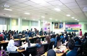 รูปภาพ : คณะวิทย์ฯ มทร.ล้านนา จัดพิธีเปิดโครงการศึกษาแลกเปลี่ยนวัฒนธรรมนักศึกษาโครงการ BRIC  ห้องเรียนในไทย