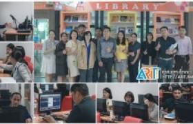 รูปภาพ : ห้องสมุด วิทยบริการฯ จัดฝึกอบรมฐานข้อมูลหนังสืออิเล็กทรอนิกส์ (E-Book Access Engineering)