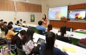 รูปภาพ : ศูนย์ภาษา มทร.ล้านนา ลำปาง จัดโครงการเรียนรู้วัฒนธรรมภาษาพม่า เพื่อส่งเสริมให้เกิดการเรียนรู้ภาษาอาเซียน และสามารถสื่อสารได้