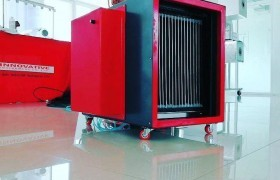 Image : Air treatment and indoor disinfection by using electrostatic techniques