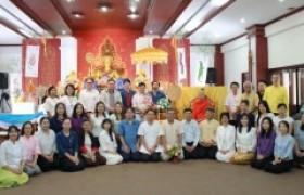รูปภาพ : ศูนย์วัฒนธรรมศึกษา จัดกิจกรรมทางพระพุทธศาสนา ประเพณี 12 เป็ง เนื่องในเทศกาลเข้าพรรษา วันที่ 13 กันยายน 2562