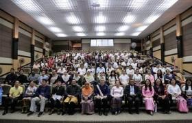 """รูปภาพ : พิธีปิดโครงการ """"Tourism and Hospitality Exchange Program RMUTL 2019"""""""