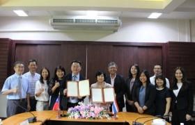 รูปภาพ : การประชุมร่วมกับผู้แทนจาก Nanhua University ไต้หวัน
