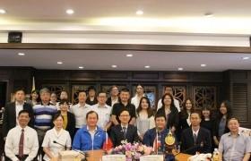 รูปภาพ : การประชุมร่วมกับคณะผู้แทนจากสำนักงานเศรษฐกิจและวัฒนธรรมไทเปประจำประเทศไทย และมหาวิทยาลัยในไต้หวัน