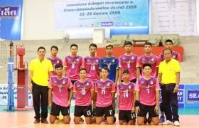 Image : Team of Volleyball Club of the RMUTL  Phitsanulok