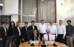 รูปภาพ : การประชุมร่วมกับผู้แทนจาก Technische Universitat Dresden ประเทศเยอรมนี