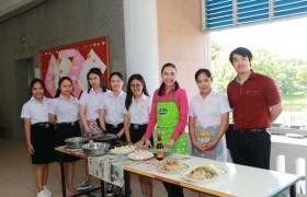 รูปภาพ : สาขาศิลปศาสตร์  จัดกิจกรรมเรียนรู้วัฒนธรรมอาหารจีน ในรายวิชาภาษาจีนเพื่ออาชีพ ส่งเสริมการเรียนรู้แก่นักศึกษา