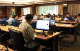 รูปภาพ : ศูนย์วัฒนธรรมศึกษา จัดการประชุมเตรียมความพร้อมในการเข้าร่วมกิจกรรมประกวดขบวนกระทงใหญ่ ประจำปี พ.ศ.2562 ครั้งที่ 4