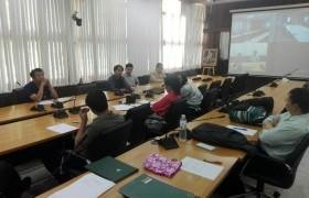 รูปภาพ : คณะวิศวกรรมศาสตร์ประชุม conference แผนพัฒนาและปรับปรุงหลักสูตร