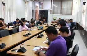 รูปภาพ : ศูนย์วัฒนธรรมศึกษา จัดการประชุมเตรียมความพร้อมในการเข้าร่วมกิจกรรมประกวดขบวนกระทงใหญ่ ประจำปี พ.ศ.2562 ครั้งที่ 5