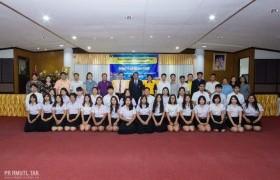 รูปภาพ : การปฐมนิเทศนักศึกษาสหกิจศึกษา ภาคเรียนที่ 2/2562