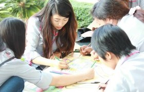 """Image : """"English preparation"""", the First Step to Innovative Grads (Students)"""