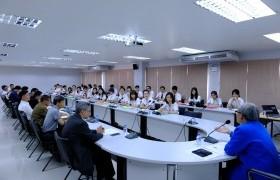 รูปภาพ : คณะศิลปกรรมและสถาปัตยกรรมศาสตร์จัดพิธีปฐมนิเทศนักศึกษาแลกเปลี่ยนจาก Guangxi Normal University (GNXU) สาธารณรัฐประชาชนจีน