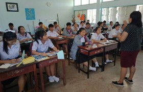 รูปภาพ : ทีมงานแนะแนว มทร.ล้านนา เชียงราย เข้าแนะแนวการศึกษาต่อ ณ โรงเรียนดอนชัยวิทยาคม
