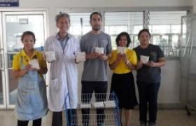 รูปภาพ : มทร.ล้านนา ลำปาง ร่วมต้อนรับทีมงานบริษัทหงส์ฟ้า ฟู๊ด โปรดัคส์ เอ็กซ์ปอร์ต อิมปอร์ต จำกัด พร้อมสานต่อการทำถั่วเหลืองหมักเตมเปเชิงพาณิชย์