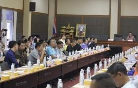รูปภาพ : มทร.ล้านนา เชียงราย เข้าร่วมการประชุมเตรียมการจัดงานพ่อขุนเม็งรายมหาราชและงานกาชาด ประจำปี 2563