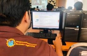 รูปภาพ : ประมวลภาพกิจกรรม อบรมการใช้งานฐานข้อมูลออนไลน์ ให้กับนักศึกษาหลักสูตรวิศวกรรมอิเล็กทรอนิกส์และระบบควบคุมอัตโนมัติ Sec 2 วันที่ 21 พฤศจิกายน 2562