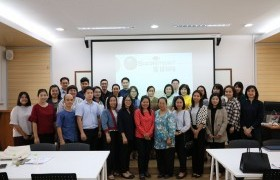"""Image : The Faculty of Business Administration and Liberal Arts held seminar """"train the Trainers and Team Based Teaching"""""""
