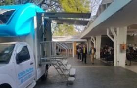 รูปภาพ : ธ.กรุงไทย จัดรถบริการ KTB on the move ให้บริการรับชำระค่าบำรุงการศึกษา ณ โรงอาหาร มทร.ล้านนา เชียงใหม่