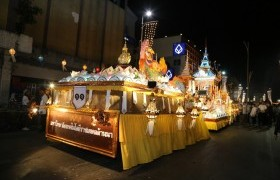 Image : Great Lecture RMUTL won the 1st runner-up of the big Krathong car