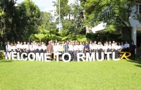 Image : RMUTL welcomes GXNU students in the opportunity who comes to study Fine Arts at RMUTL 1 semester.