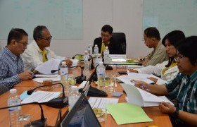 Image : Faculty of Sciences and Agricultural Technology meeting to plan the New Generation Graduate Project.