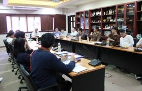 Image : Cultural Studies Center held the meeting for summarizing the participation in the Loy Krathong Parade Contest 2019