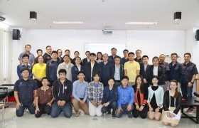 Image : RMUTL cooperate with Thailand Professional Qualification Institute (Public Organization) arrange personnel training that prepare personnel in organization according to professional standards in energy and alternative energy.
