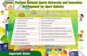 รูปภาพ : ประชาสัมพันธ์การส่งบทคัดย่อเพื่อพิจารณาเข้าร่วมนำเสนอในงานประชุมวิชาการนานาชาติ มหาวิทยาลัยการกีฬาแห่งชาติ ครั้งที่ 10