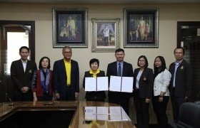 Image : RMUTL has signed MOU of the Thai Artificial Intelligence Association.
