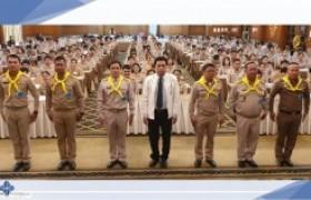 รูปภาพ : ผอ.สถช.ร่วมเป็นทีมวิทยากรจิตอาสา 904 บรรยายปลูกฝังอุดมการณ์ สถาบันพระมหากษัตริย์กับประเทศไทย ให้กับผู้บริหาร คณะครู บุคลากรทางการศึกษา และครูผู้ช่วย (บรรจุใหม่)