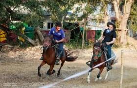 รูปภาพ : การแข่งขันกีฬาขี่ม้าคาวบอยจังหวัดน่าน ครั้งที่ 2
