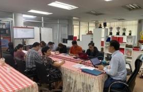 รูปภาพ : การประชุมบุคลากรสถาบันวิจัยและพัฒนา