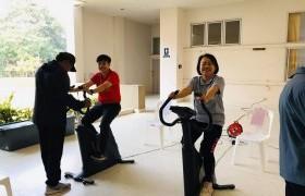 รูปภาพ : วิทยาลัยเทคโนโลยีและสหวิทยาการ จัดกิจกรรมทดสอบร่างกายเพื่อประเมินผลสุขภาพของบุคลากร วทส.
