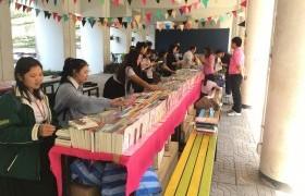 รูปภาพ : ขอเชิญอาจารย์ เจ้าหน้าที่ และนักศึกษา ร่วมงานจัดแสดงบูธหนังสือใหม่ของศูนย์หนังสือเพื่อจัดซื้อมาให้บริการภายในห้องสมุด