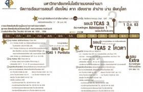 รูปภาพ : ประกาศรายชื่อผู้มีสิทธิ์เข้าศึกษาต่อระดับปริญญาตรี มทร.ล้านนา น่าน รอบ TCAS 1