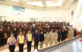 รูปภาพ : จิตอาสา 904 บรรยายให้ความรู้กับนักศึกษา ม.เทคโนโลยีราชมงคลล้านนา พิษณุโลก