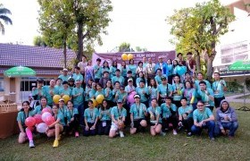 Image : Alumni association of RMUTL, organized charity run event 2020