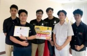 รูปภาพ : นักศึกษาออกแบบสื่อสาร ได้รับรางวัลชนะเลิศในการประกวดคลิปการท่องเที่ยวเชียงใหม่ไนท์ซาฟารี 2019