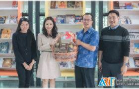 รูปภาพ : วิทยบริการฯ ร่วมหารือแนวทางการพัฒนาและการฝึกอบรมด้านวิทยการหุ่นยนต์ การเขียนโปรแกรมร่วมกับบริษัท แกมมาโก้(ประเทศไทย) จำกัด