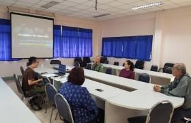 รูปภาพ : ประชุมเปิดการตรวจสอบภายใน สถาบันวิจัยเทคโนโลยีเกษตร