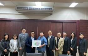 รูปภาพ : การประชุมร่วมกับคณะผู้แทนจาก National Chung Cheng University, ไต้หวัน