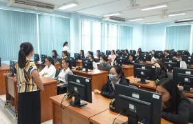 รูปภาพ : ศูนย์ภาษา มทร.ล้านนา ลำปาง จัดทดสอบ Placement test เพื่อวัดผลความรู้ทางภาษาอังกฤษของนักศึกษา