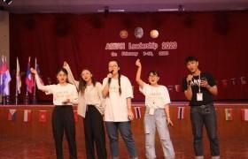 รูปภาพ : นักศึกษาหลักสูตรภาษาอังกฤษเพื่อการสื่อสารสากล มทร.ล้านนา พิษณุโลก เป็นตัวแทนเข้าร่วมโครงการ ASEAN Leadership 2020