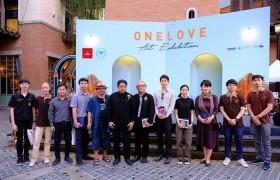 รูปภาพ : คณะศิลปกรรมฯ มทร.ล้านนา ร่วมงานนิทรรศการ One Love Art Exhibition หนึ่งน้ำใจเพื่อหนึ่งชีวิตใหม่