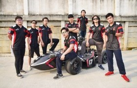 Image : Real Team RMUTL won the 1st prize for Best Improvement at the 16th TSAE Auto Challenge 2020 Student Formula
