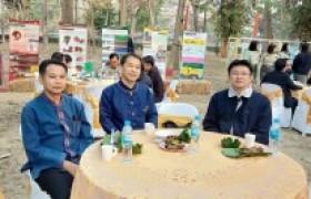 รูปภาพ : ผู้บริหาร คณาจารย์ มทร.ล้านนา เชียงราย เข้าร่วมงานสภากาแฟ ครั้งที่ 2/2563 ณ โครงการป่าไม้ในเมือง สวนรุกขชาติโป่งสลี