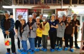 รูปภาพ : สาขาการจัดการธุรกิจพานักศึกษาดูงานการบริหารฟาร์มเพาะเห็ด ณ  ห้างหุ้นส่วนจำกัด ฟาร์มเส้นทางเห็ด จ.พิษณุโลก