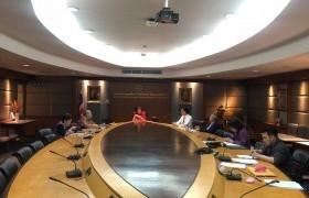 รูปภาพ : ประชุมคณะกรรมการตรวจสอบการบริหารงานประจำมหาวิทยาลัย ครั้งที่ 12 (6/2563) วันอังคาร ที่ 10 มีนาคม 2563